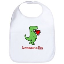 Loveasaurus Rex Bib