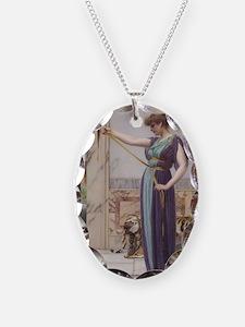 A Pompeiian Lady by John Willi Necklace