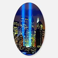 911 Memorial  Sticker (Oval)