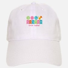 Colorful Whimsy Bird Big Sister Cap