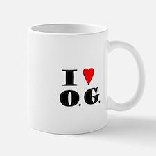 I Love O G Mug
