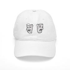 Comedy Tragedy Masks Baseball Cap