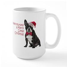 Santa Frenchie Mugs