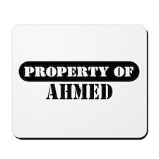 Property of Ahmed Mousepad