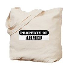 Property of Ahmed Tote Bag