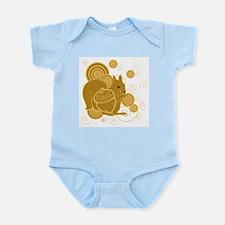 Squirrely Squirrel Infant Bodysuit
