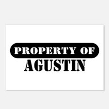 Property of Agustin Postcards (Package of 8)