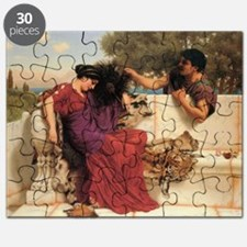 The Old, Old Story by John William Godward Puzzle
