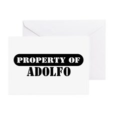 Property of Adolfo Greeting Cards (Pk of 10)