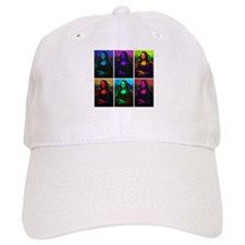 Mona Lisa Multicolor Baseball Cap