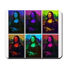Mona Lisa Multicolor Mousepad
