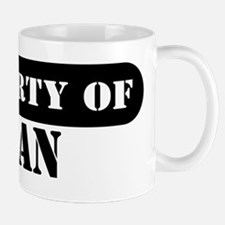 Property of Adan Mug
