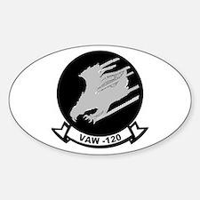 VAW 120 Greyhawks Oval Decal