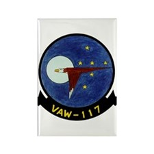VAW 117 Wallbangers Rectangle Magnet