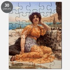 With Violets Wreathed and Robe of Saffron H Puzzle
