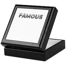 Famous Keepsake Box
