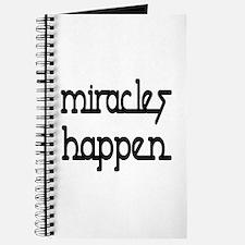 Miracles Happen Journal
