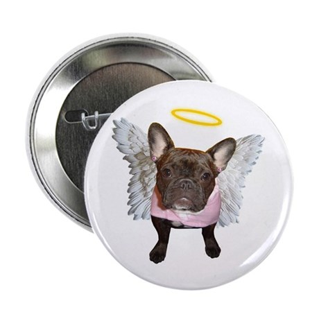Angel Frenchie Button