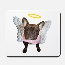 Angel Frenchie Mousepad
