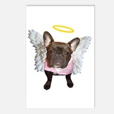 Angel Frenchie Postcards (Package of 8)