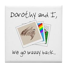 Friend of Dorothy Tile Coaster