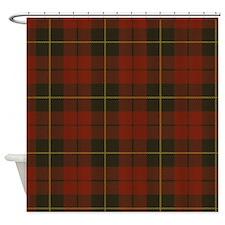 Wallace Tartan Shower Curtain