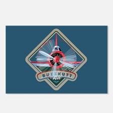 Buzzkutt Airplane Postcards (Package of 8)