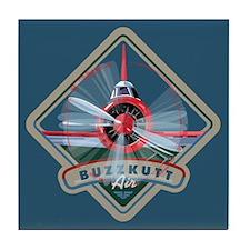Buzzkutt Airplane Tile Coaster