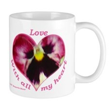 Love, with all my Heart Mug