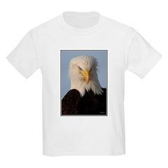 Bald Eagle Portrait Kids T-Shirt