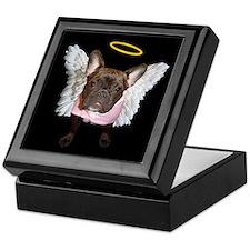 Angel Frenchie Keepsake Box