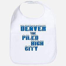 Piled High Mile High City Bib