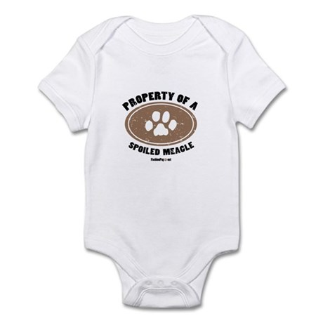 Meagle dog Infant Bodysuit