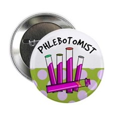 "Phlebotomist 2.25"" Button"