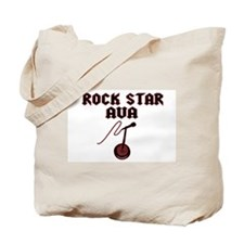 """Rock Star Ava"" Tote Bag"