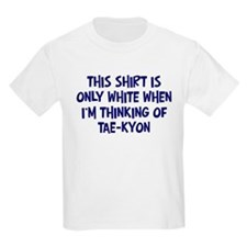 Thinking About Tae-Kyon Kids T-Shirt