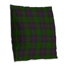 Shaw Tartan Burlap Throw Pillow