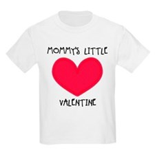 Mommy's Little Valentine Kids T-Shirt
