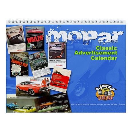 cover_mopar_ad Wall Calendar