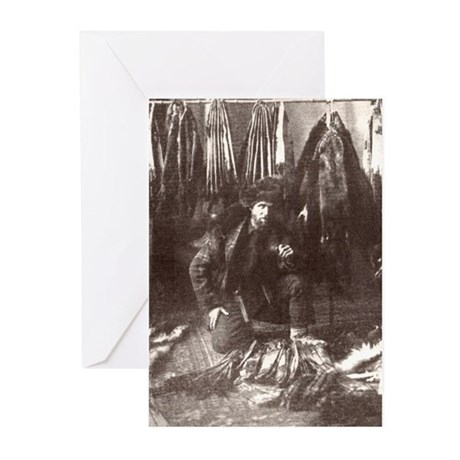 1919 Trapper Greeting Cards (Pk of 10)