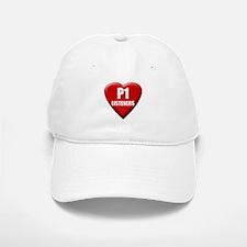 P1 Love Baseball Baseball Cap