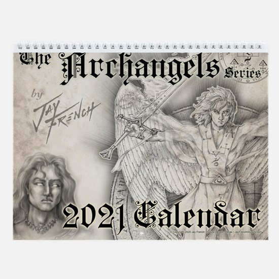The Archangels 2018 Wall Calendar