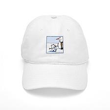 Snowman Builder Baseball Cap