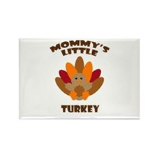 Mommys Little Turkey Magnets