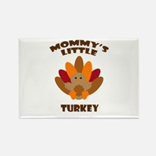 Mommys Little Turkey Magnets