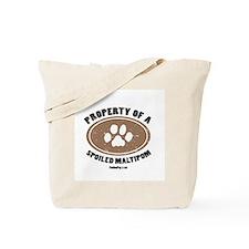 Maltipom dog Tote Bag