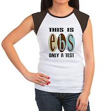 EBS Test Women's Cap Sleeve T-Shirt