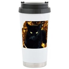 Halloween Cat Travel Mug