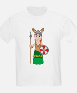 Little Valkyrie Kids T-Shirt