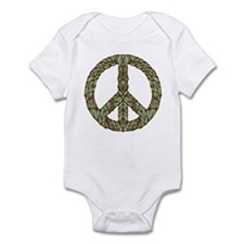 Art Nouveau Peace Sign Infant Bodysuit